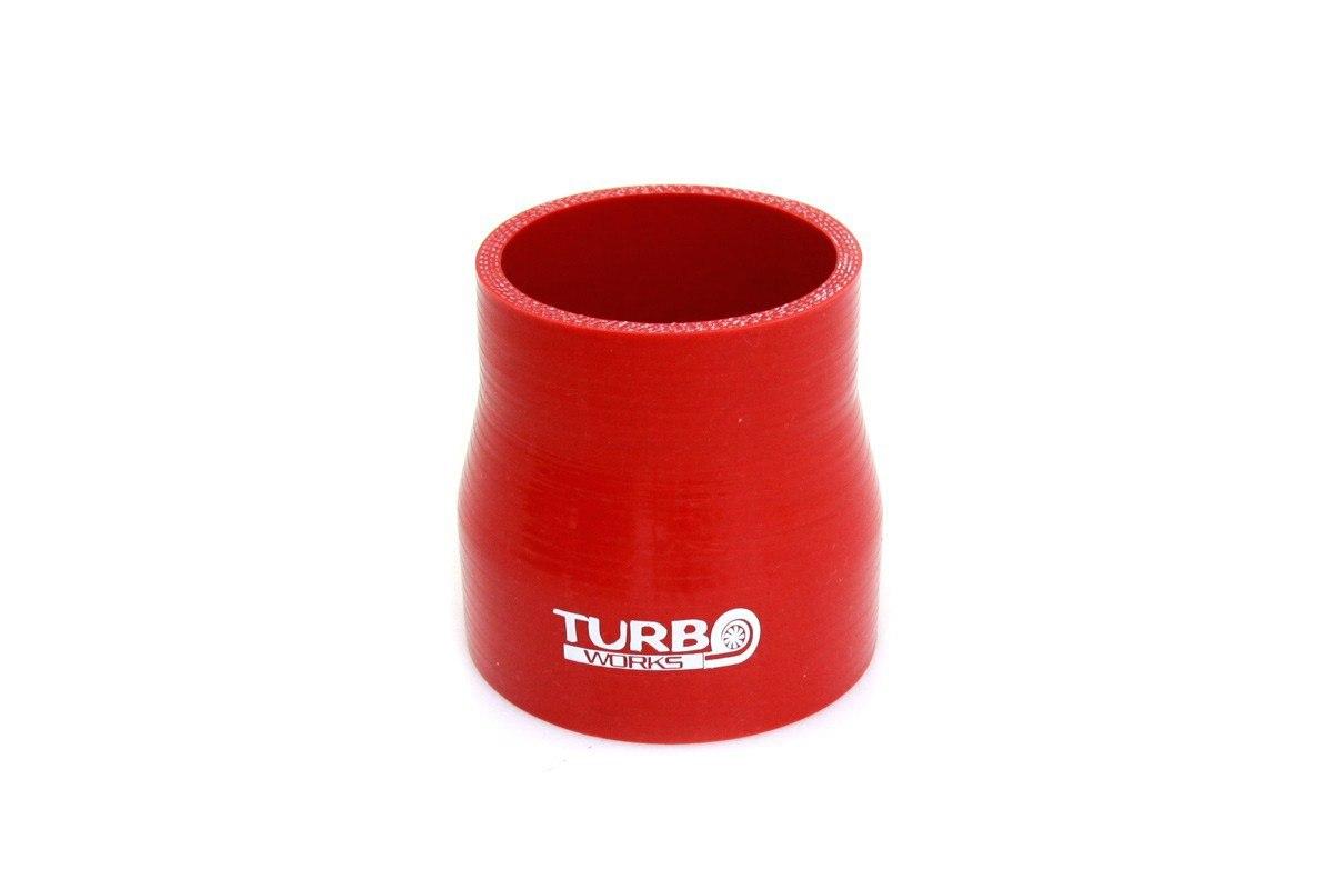 Redukcja prosta TurboWorks Red 63-76mm - GRUBYGARAGE - Sklep Tuningowy